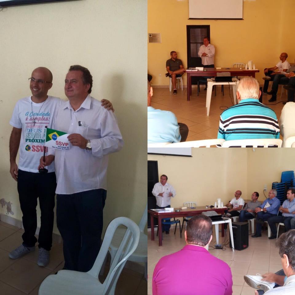 Reunião com o presidente de Obras Unidas, do Conselho Metropolitano de São Carlos