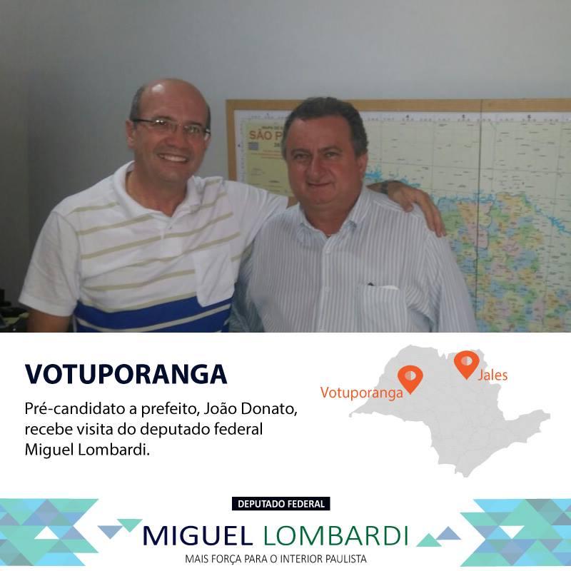 VOTUPORANGA | Mandata no interior paulista