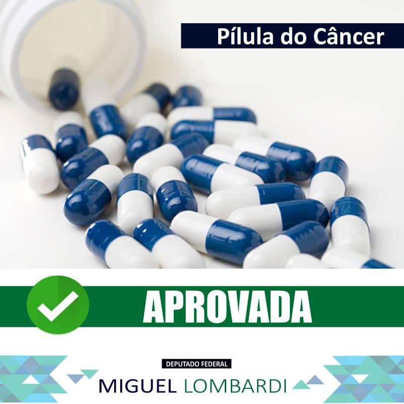 Pílula do Câncer - APROVADA!