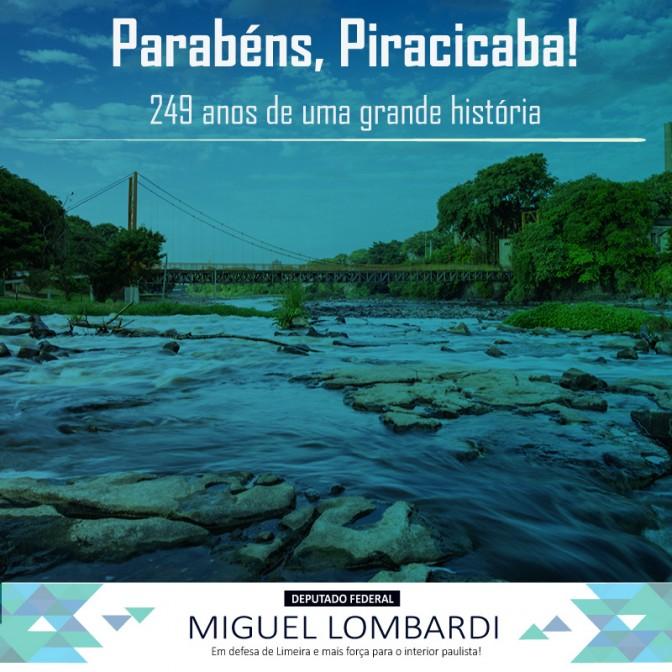 Parabéns, Piracicaba!