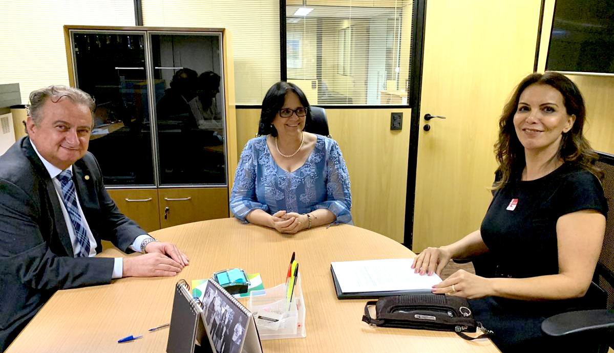 Miguel solicita e Damaris insere Limeira em programa vitrine do ministério