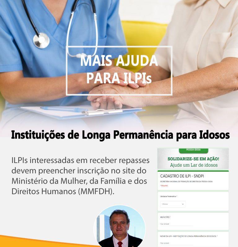 Mais ajuda para ILPIs