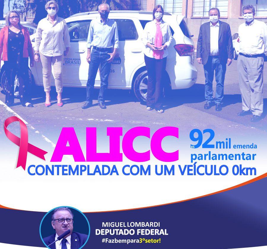 ALICC É CONTEMPLADA COM VEÍCULO 0 km
