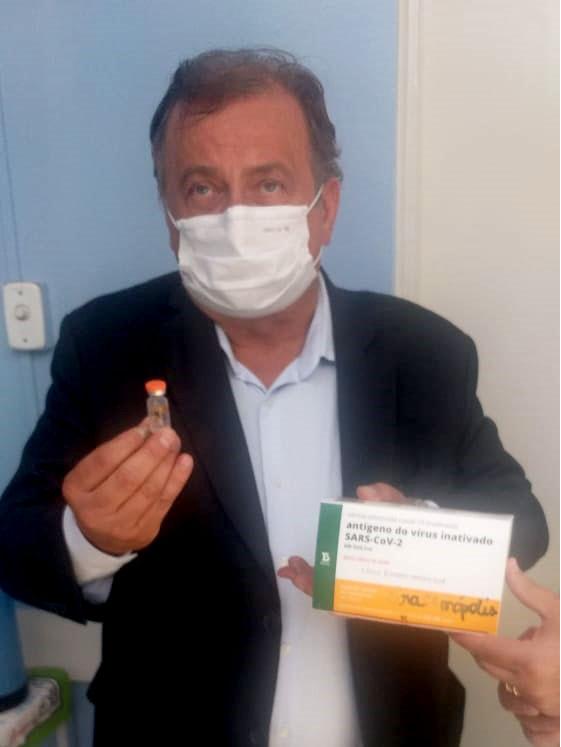 Miguel reforça campanha pela vacinação
