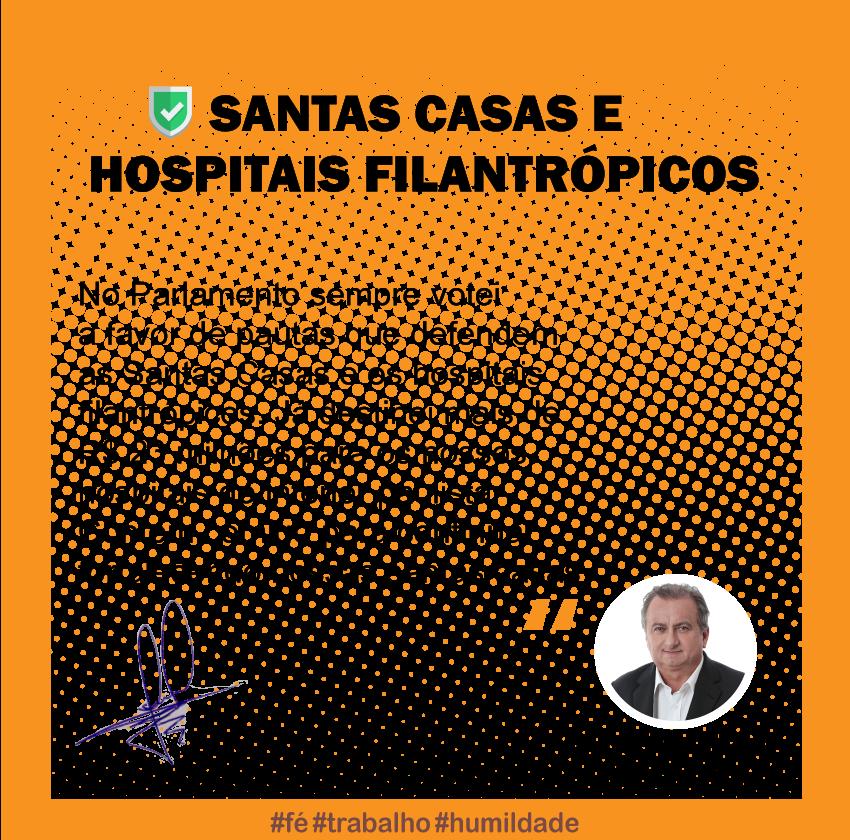Apoio à mobilização das santas casas e hospitais filantrópicos