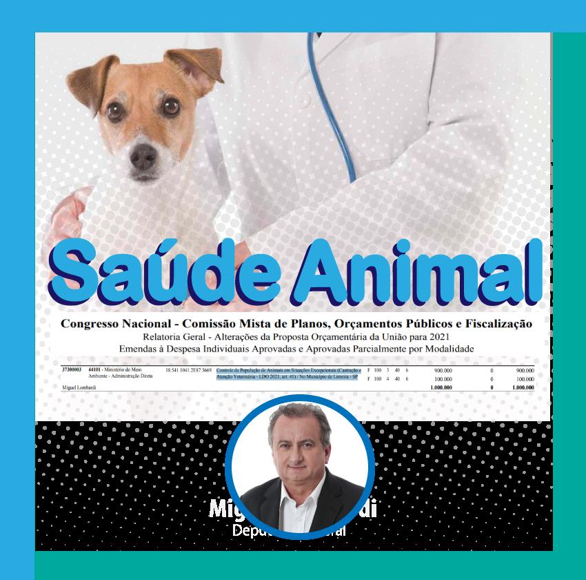 Saúde animal : Miguel aprova R$ 1 milhão para política pública