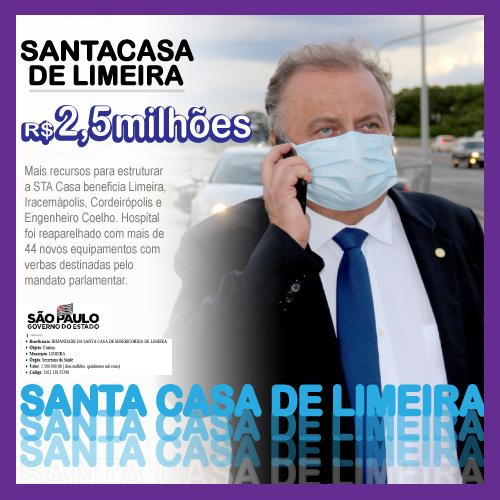 Santa Casa de Limeira renova parque hospitalar com 44 novos equipamentos