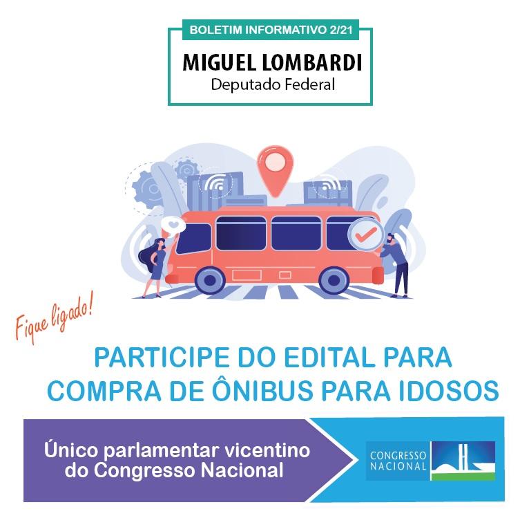 Mandato orienta prefeituras a como adquirir ônibus para idosos